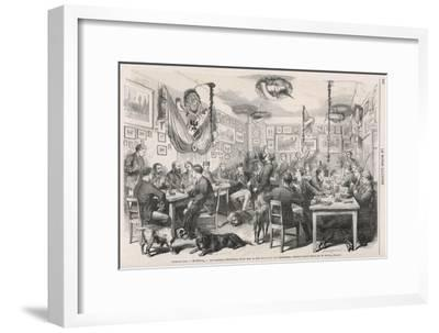 Heidelberg University Students 1870--Framed Giclee Print