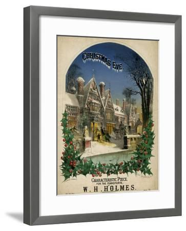 Christmas Eve Visiting-Alfred Concanen-Framed Giclee Print