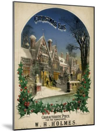 Christmas Eve Visiting-Alfred Concanen-Mounted Giclee Print
