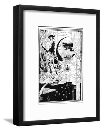 Siegfried-Aubrey Beardsley-Framed Giclee Print