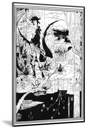 Siegfried-Aubrey Beardsley-Mounted Giclee Print