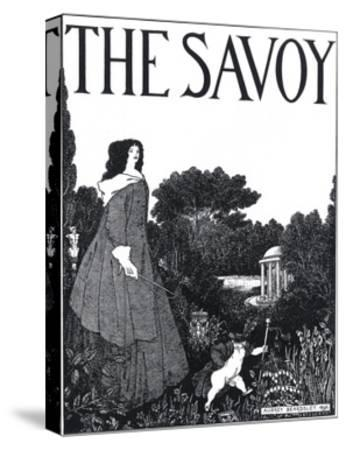 The Savoy, Volume I-Aubrey Beardsley-Stretched Canvas Print