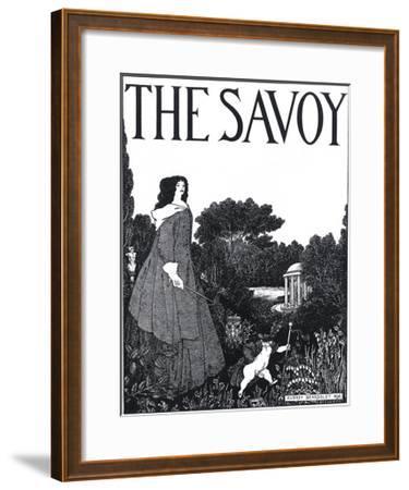 The Savoy, Volume I-Aubrey Beardsley-Framed Giclee Print