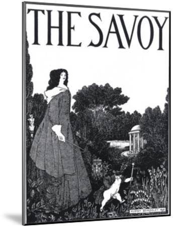 The Savoy, Volume I-Aubrey Beardsley-Mounted Giclee Print