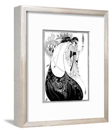 The Peacock Skirt-Aubrey Beardsley-Framed Premium Giclee Print