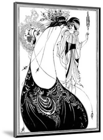 The Peacock Skirt-Aubrey Beardsley-Mounted Premium Giclee Print