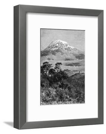 Tanzania, Kilimanjaro--Framed Giclee Print