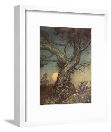 Fairy Folk-Arthur Rackham-Framed Giclee Print