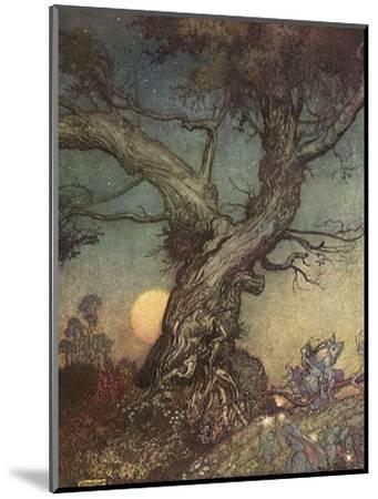 Fairy Folk-Arthur Rackham-Mounted Giclee Print
