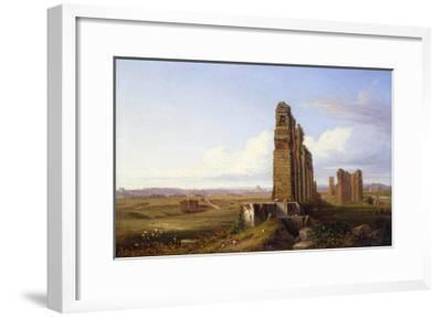 View of the Roman Campagna-Franz Knebel-Framed Giclee Print