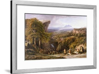 Mount Tomohrit, Albania-Edward Lear-Framed Giclee Print