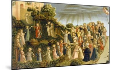 Judgment Day-Fra Angelico Fra Angelico-Mounted Giclee Print