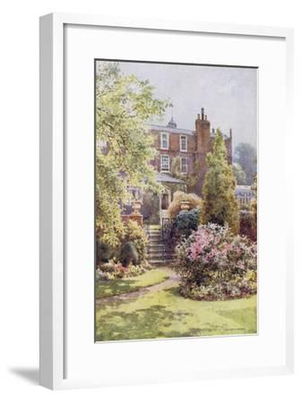 Home of Charles Dickens at Gadshill, Kent-EW Haslehust-Framed Giclee Print