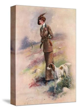 Lady Huntress-F Aveline-Stretched Canvas Print