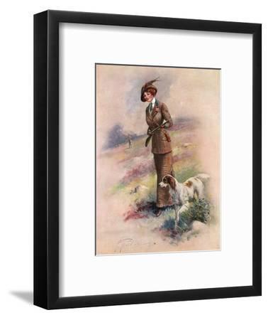 Lady Huntress-F Aveline-Framed Premium Giclee Print