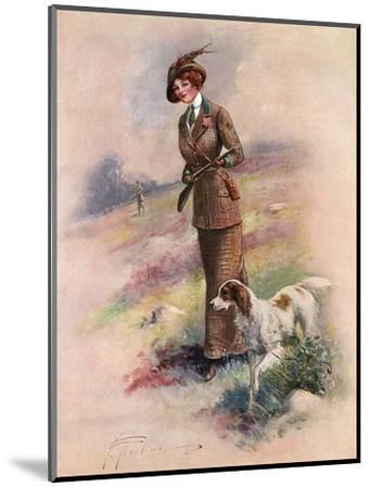 Lady Huntress-F Aveline-Mounted Premium Giclee Print