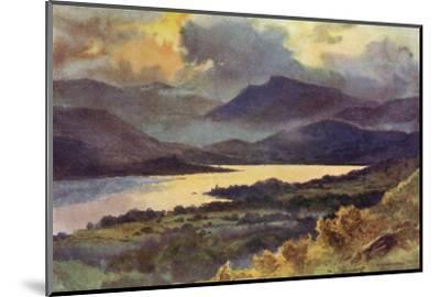 Windermere (Haslehust)-Ernest W Haslehust-Mounted Giclee Print