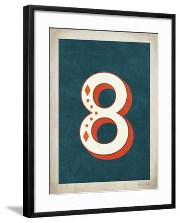 Vintage 8-Kindred Sol Collective-Framed Art Print