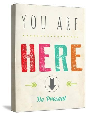 You are Here-Kindred Sol Collective-Stretched Canvas Print