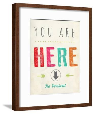 You are Here-Kindred Sol Collective-Framed Premium Giclee Print