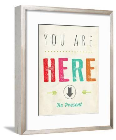 You are Here-Kindred Sol Collective-Framed Art Print