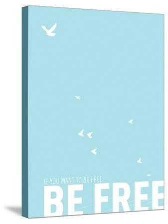 Be Free-Kindred Sol Collective-Stretched Canvas Print