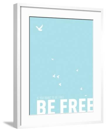 Be Free-Kindred Sol Collective-Framed Art Print