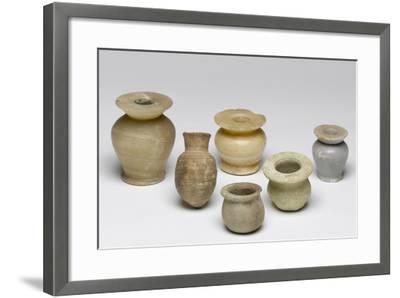 Kohl Pots-Middle Kingdom Egyptian-Framed Photographic Print