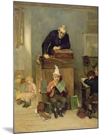 The Incorrigible, 1879-John Burr-Mounted Giclee Print