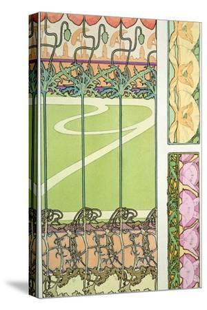 Plate 29 from 'Documents Decoratifs', 1902-Alphonse Mucha-Stretched Canvas Print