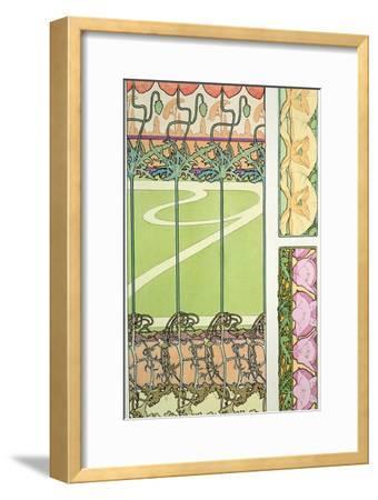 Plate 29 from 'Documents Decoratifs', 1902-Alphonse Mucha-Framed Giclee Print