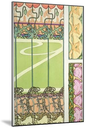 Plate 29 from 'Documents Decoratifs', 1902-Alphonse Mucha-Mounted Giclee Print