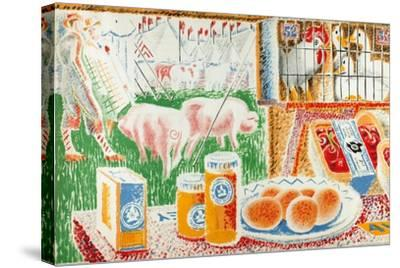Untitled, from the Series 'The UK Shows Her Produce'--Stretched Canvas Print