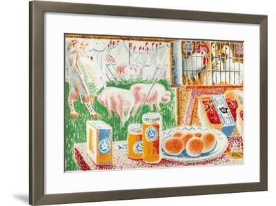 Untitled, from the Series 'The UK Shows Her Produce'--Framed Giclee Print