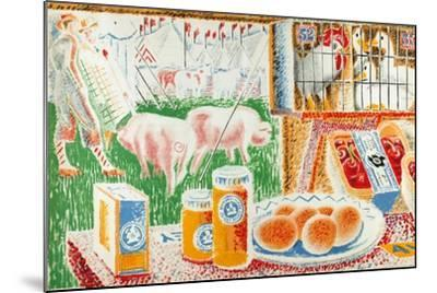 Untitled, from the Series 'The UK Shows Her Produce'--Mounted Giclee Print