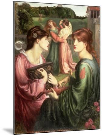 The Bower Meadow, 1850-72-Dante Gabriel Rossetti-Mounted Giclee Print