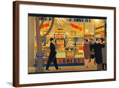 Untitled, from the Series 'John Bull, Sons and Daughters'-Harold Sandys Williamson-Framed Giclee Print