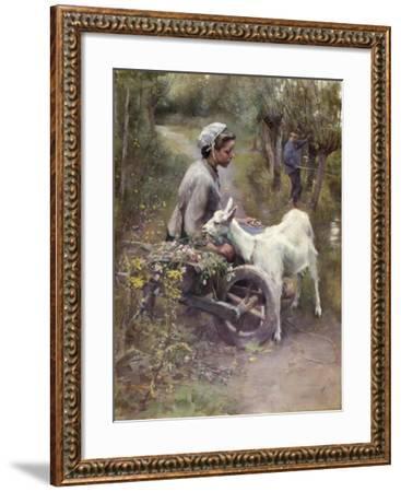 Jean, Jeanne and Jeannette, Exh.1892-Elizabeth Adela Stanhope Forbes-Framed Giclee Print