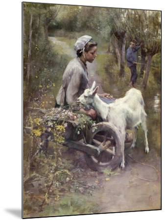 Jean, Jeanne and Jeannette, Exh.1892-Elizabeth Adela Stanhope Forbes-Mounted Giclee Print