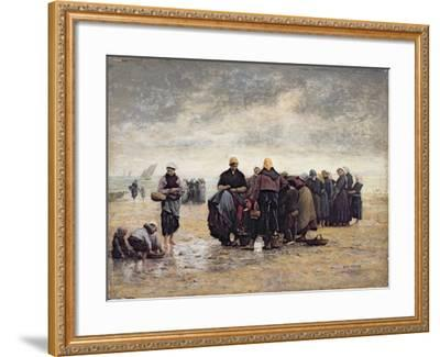 On the Shore-Jacques Eugene Feyen-Framed Giclee Print