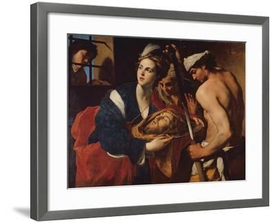 Salome with the Head of John the Baptist-Massimo Stanzioni-Framed Giclee Print