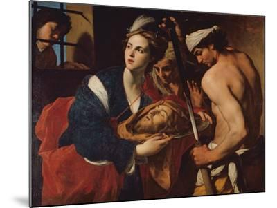 Salome with the Head of John the Baptist-Massimo Stanzioni-Mounted Giclee Print