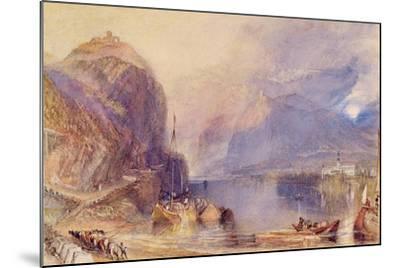 The Drachenfels, Germany, C.1823-24-J^ M^ W^ Turner-Mounted Giclee Print