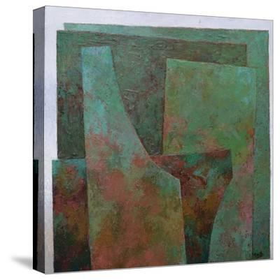 The Red and the Green-Jeremy Annett-Stretched Canvas Print