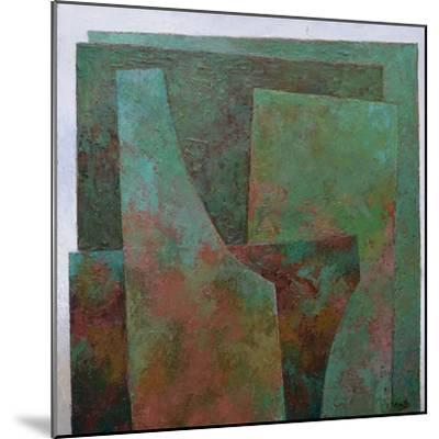 The Red and the Green-Jeremy Annett-Mounted Giclee Print