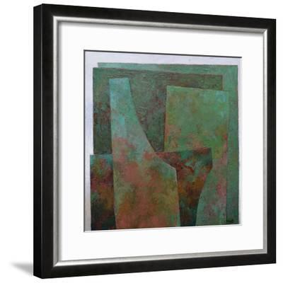 The Red and the Green-Jeremy Annett-Framed Giclee Print