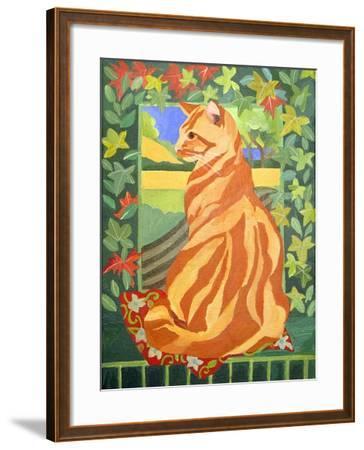Cat 1, 2014-Jennifer Abbott-Framed Giclee Print