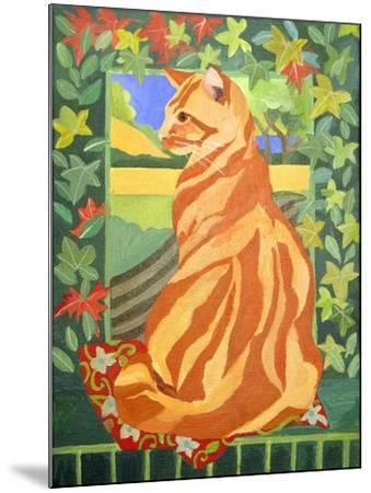 Cat 1, 2014-Jennifer Abbott-Mounted Giclee Print