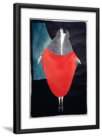 Fashion Illustration, 1920--Framed Giclee Print