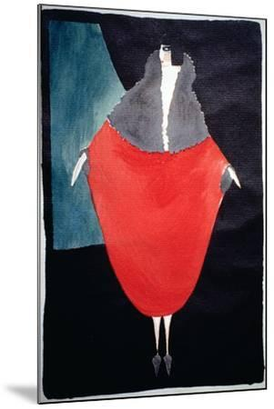Fashion Illustration, 1920--Mounted Giclee Print